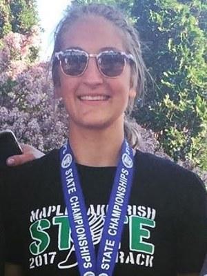 2018-19 MN Track & Field    Triple Jump   Maggie Larson  Maple Lake