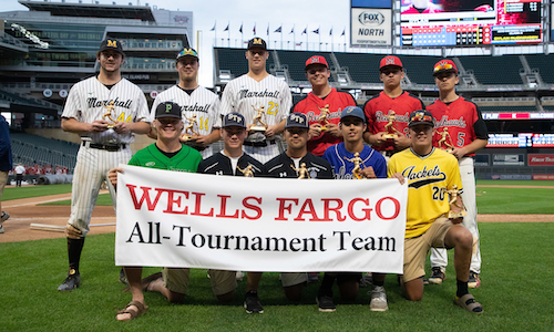 2018-19 Class AA Baseball All-Tournament Team  Names of team members: