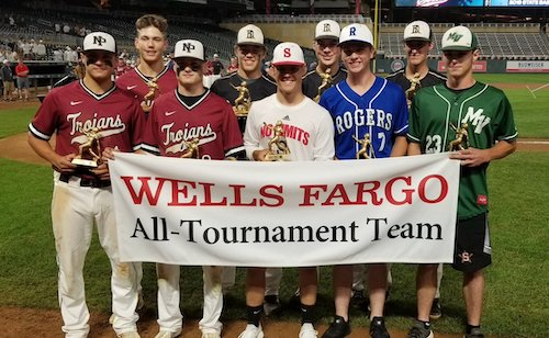 2018-19 Class AAAA Baseball All-Tournament Team  Names of team members: