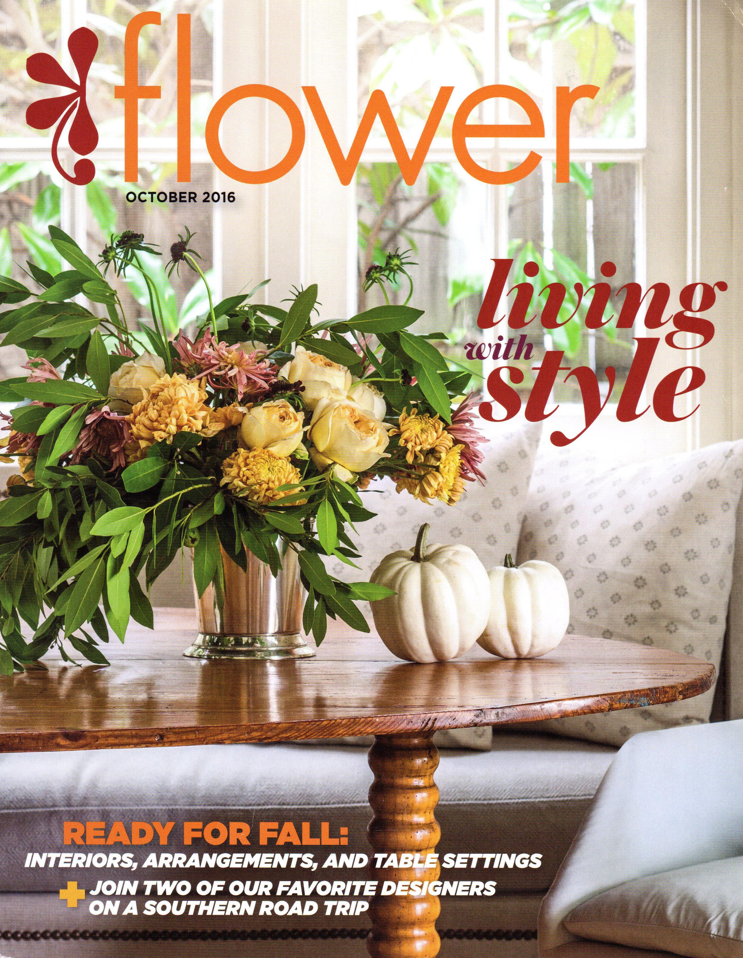 Pennoyer Newman in Flower, October 2016