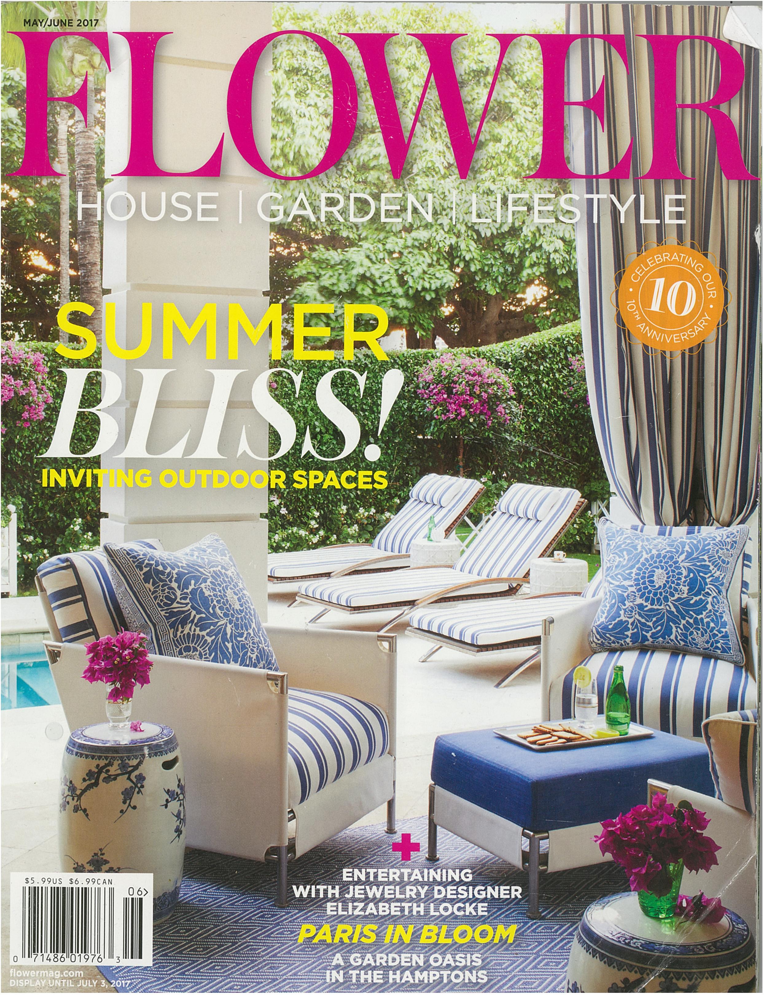 Pennoyer Newman in Flower Magazine May/June 2017