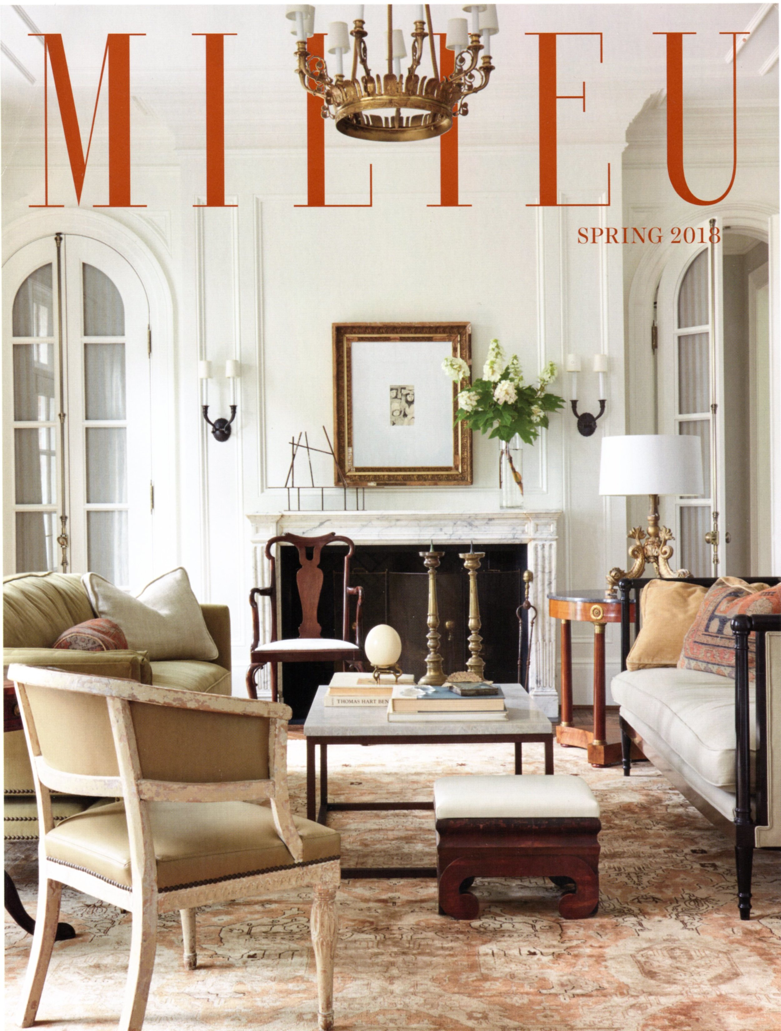 Pennoyer Newman featured in Milieu Spring 2018 issue.