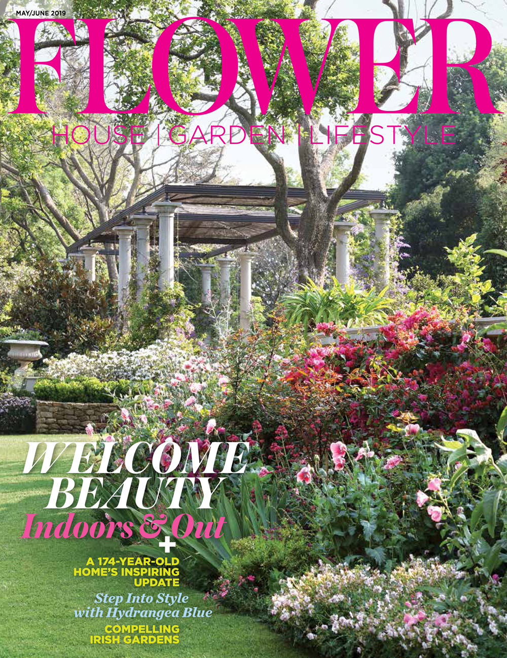 Pennoyer Newman featured in Flower Magazine May/June 2019