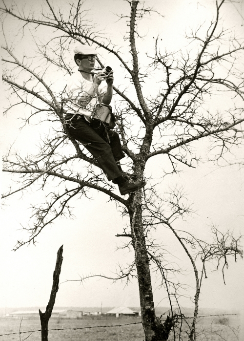 """- Many assume he became known as """"Spider"""" because he would climb anything to get the best vantage point for a photograph.In actuality, he earned the nickname long before he ever picked up a camera. Small for his age, the result of several bouts of infant pneumonia, Jimmy -- a name he despised -- often found himself the target of neighborhood bullies. He learned to make up for his stature with resourcefulness, speed, and a resolve to overcome his limitations. It was a lesson that shaped his character and helped him achieve some of his most important work."""