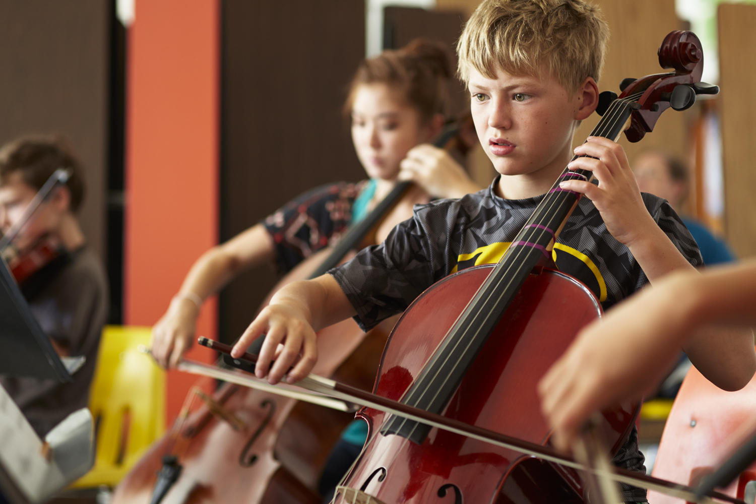 Music Matters! AFTER SCHOOL FINE ARTS INITIATIVE - El Sistema inspired