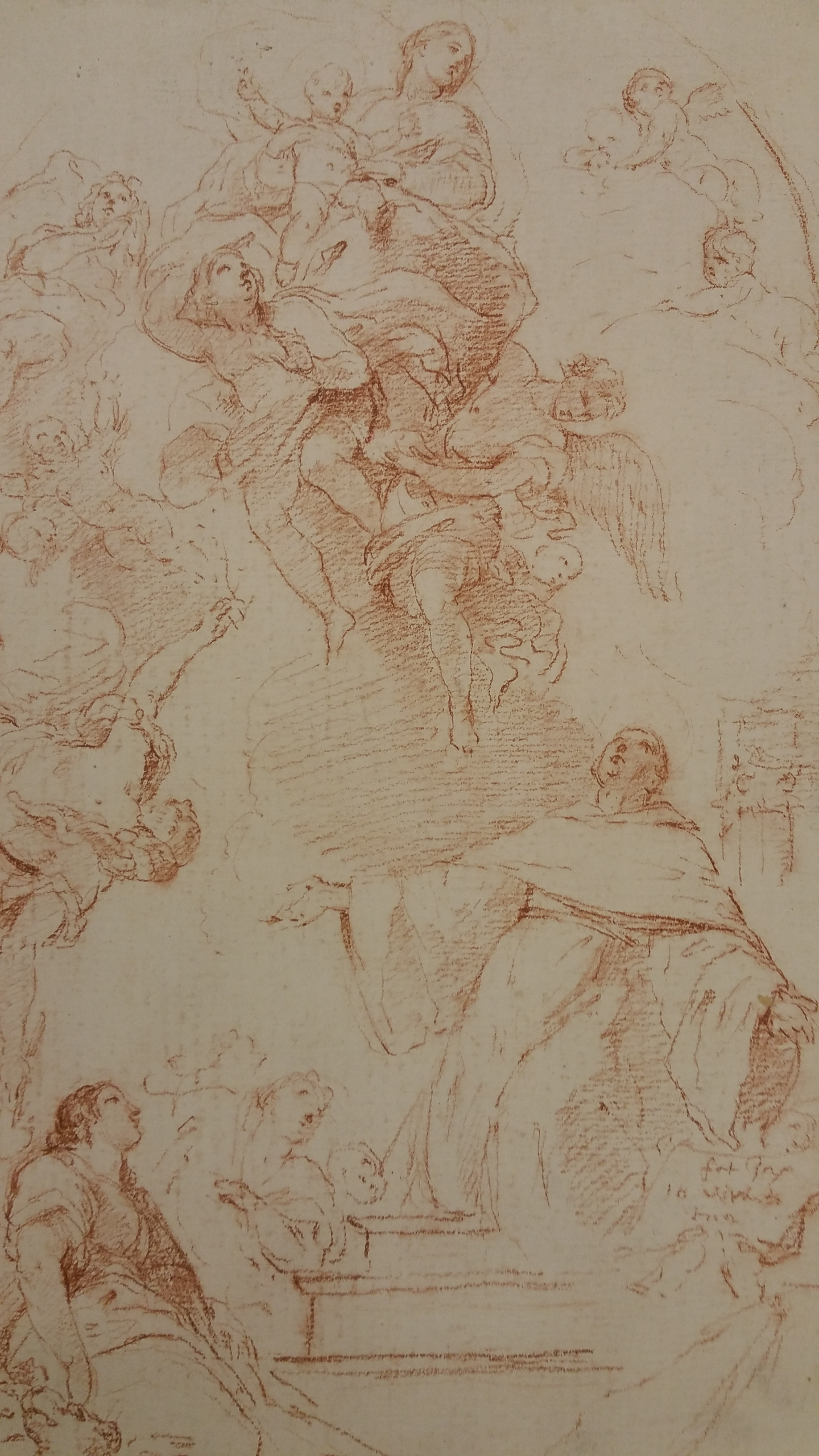 Charles-Joseph Natoire,  Apparition of the Virgin and the Infant before St. Bernard