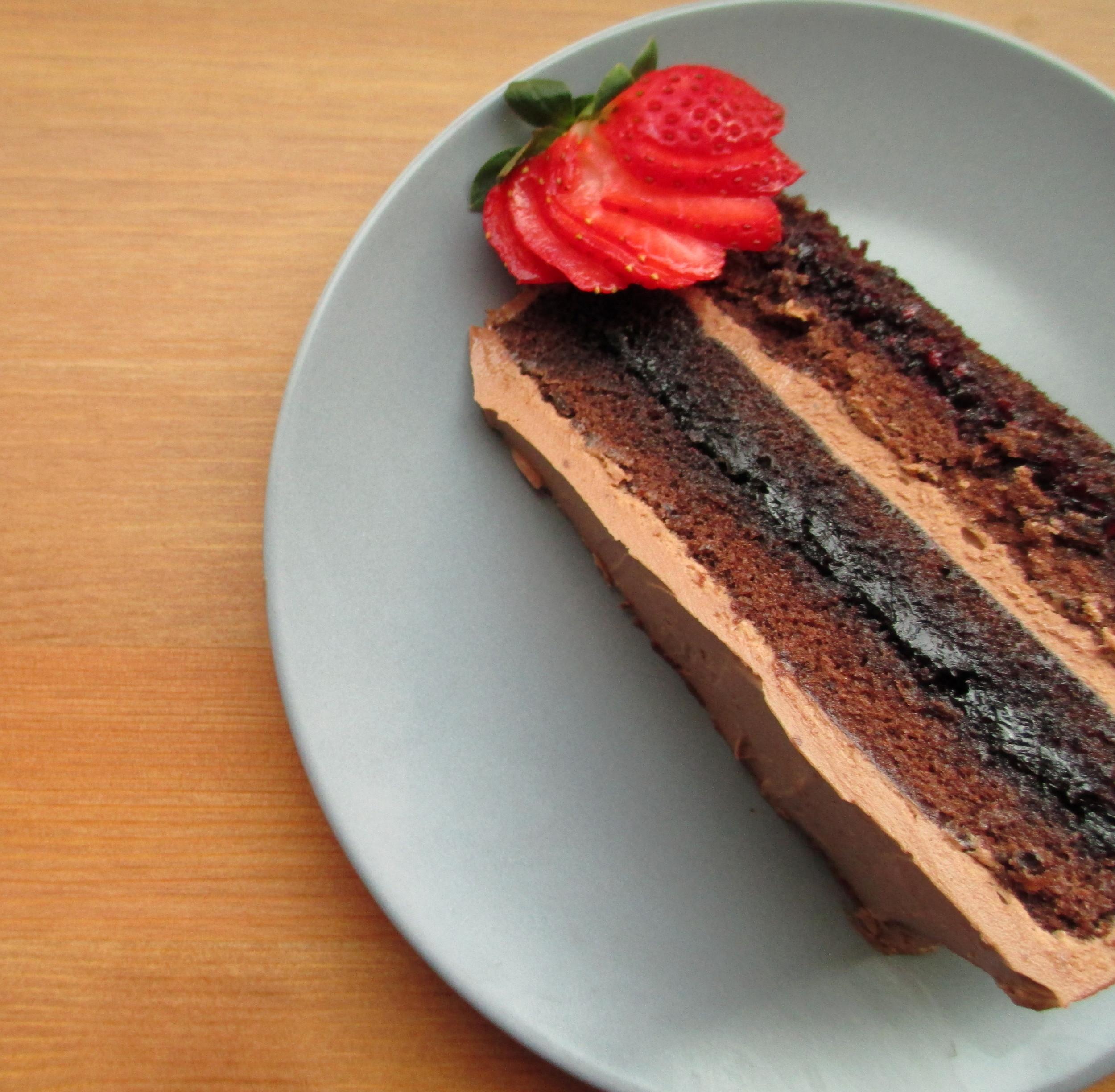 genoise layer cake 2
