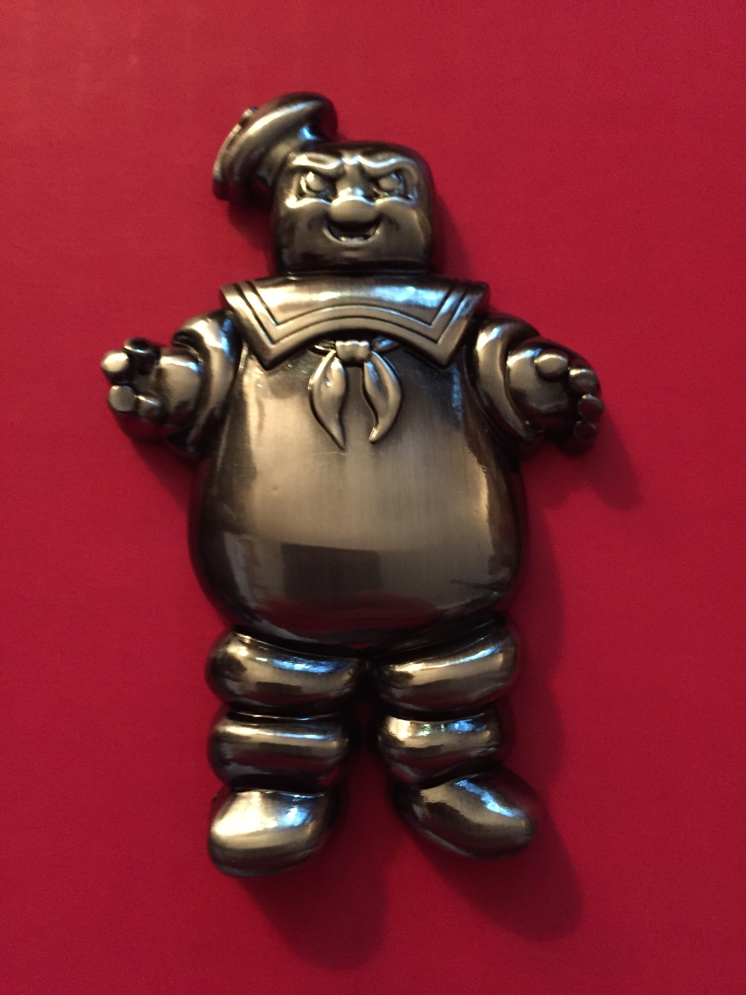 """""""Angry""""Stay Puft Bottle Opener"""