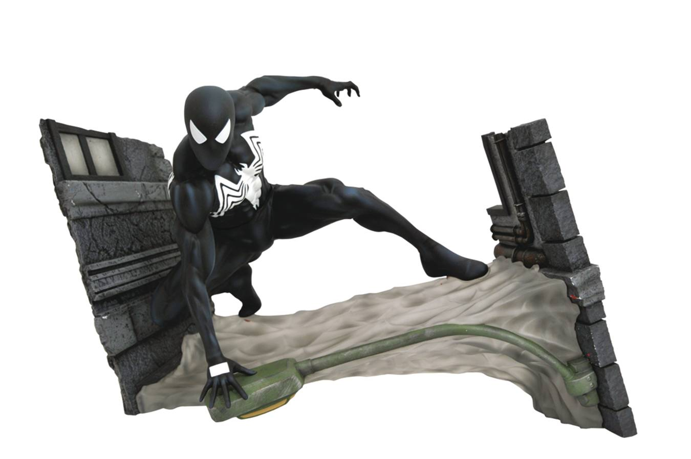 FCBD Exclusive Symbiote Spider Man PVC Gallery Statue by Diamond Select Toys