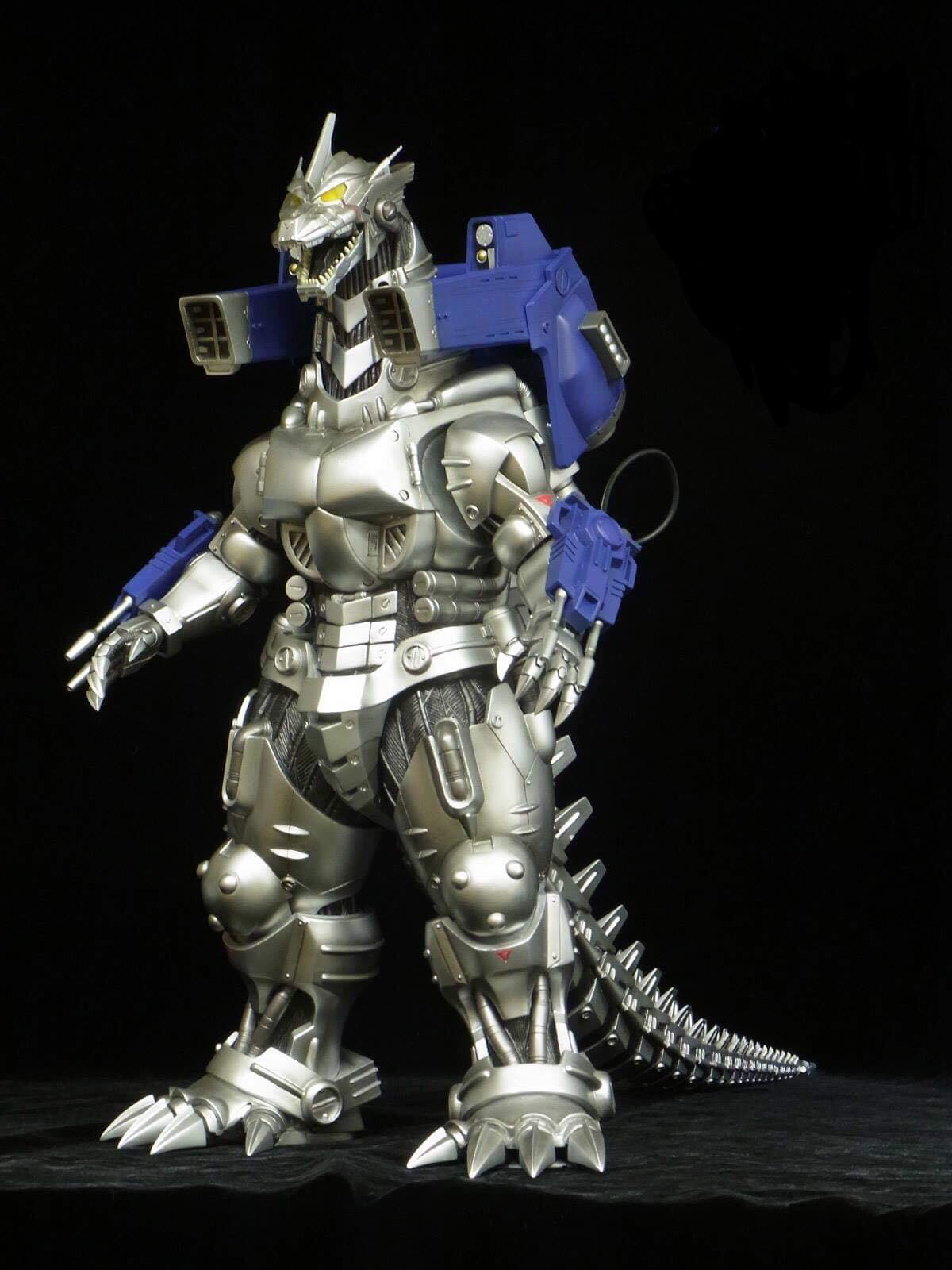 "Mechagodzilla'02 (Kiryu) 12"" Vinyl Figure by X-Plus"