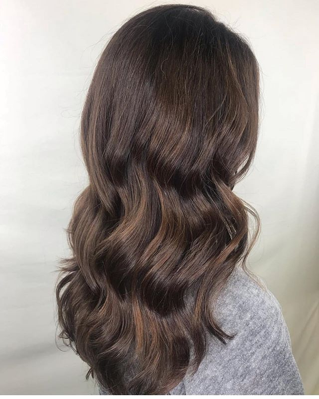 all the fall feels 🍁 dimensional brown by @_hairbyhailes