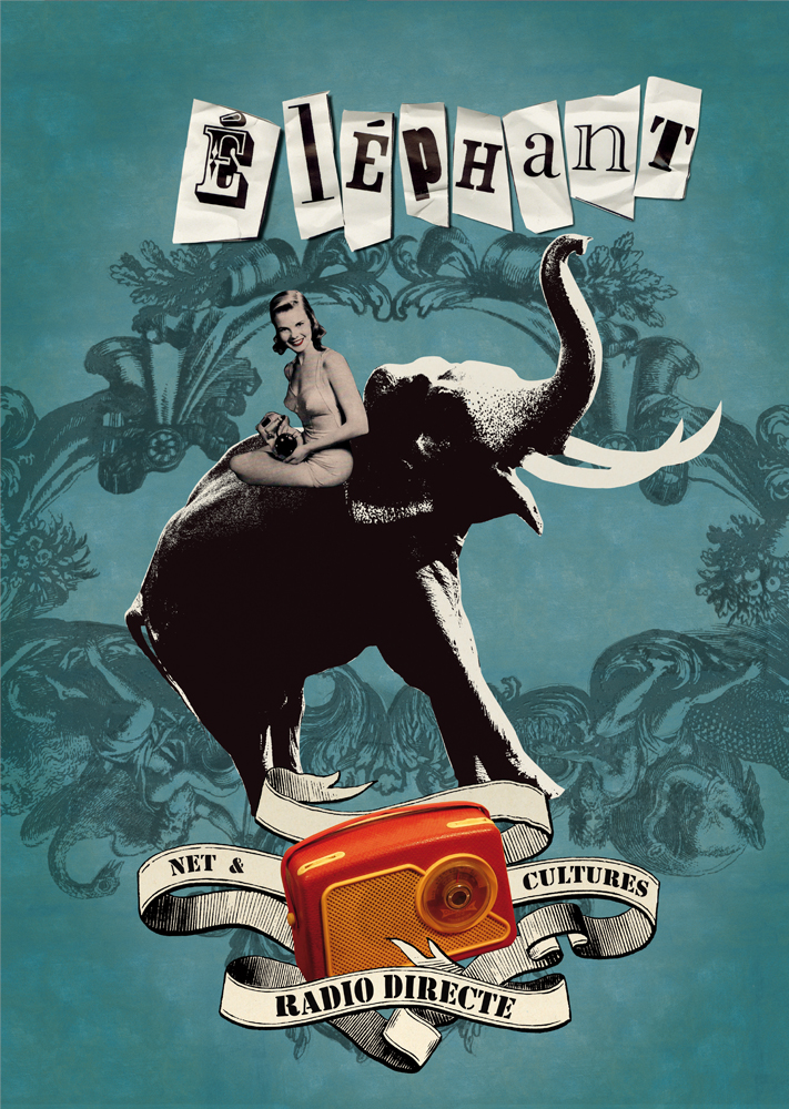 "POSTER for the ""Radio Elephant"""