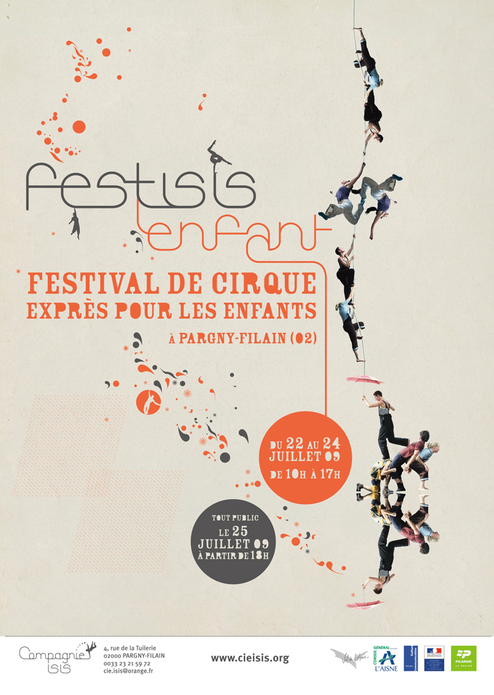 """POSTER for the Circus """"Festisis"""""""