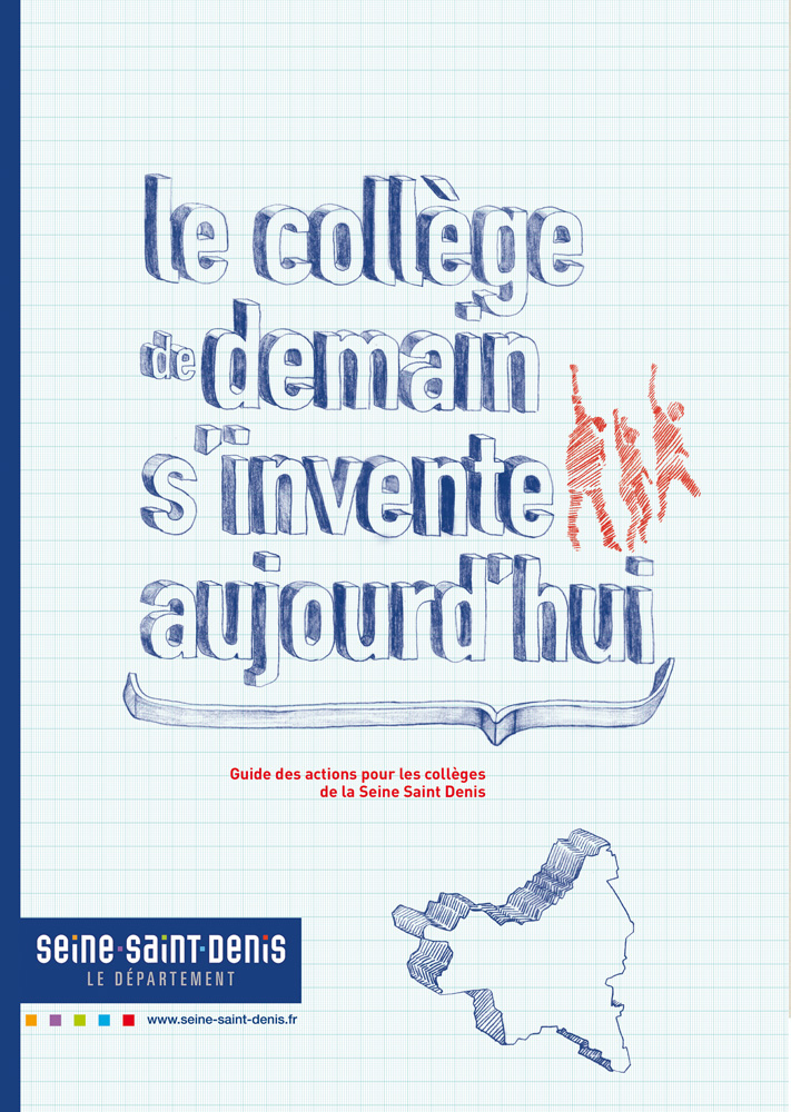 "POSTER for the conty ""Seine-Saint-Denis"" (France)"