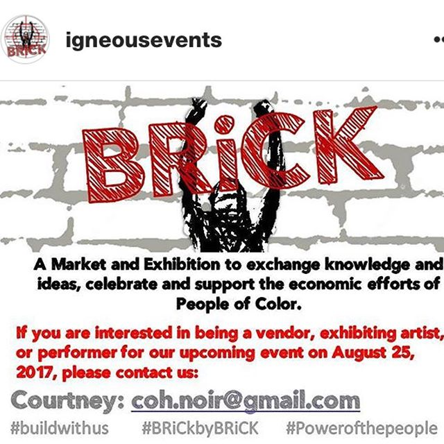 Repost Call for Artists @igneousevents for their upcoming art show! Looking for artists, vendors and sponsors. Check them out! #miamiartexhibits #miamievents #brick #artshows #callforart #callforartists