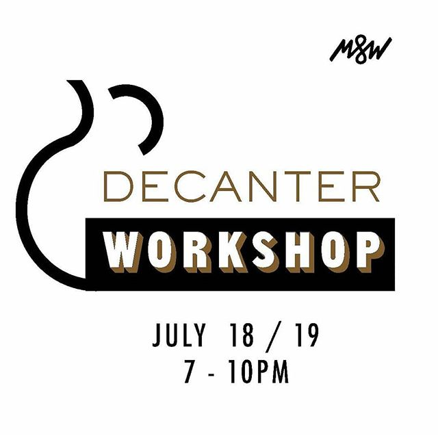 Don't miss this amazing decanter pottery workshop at @lakaypottery with host @ella_arie