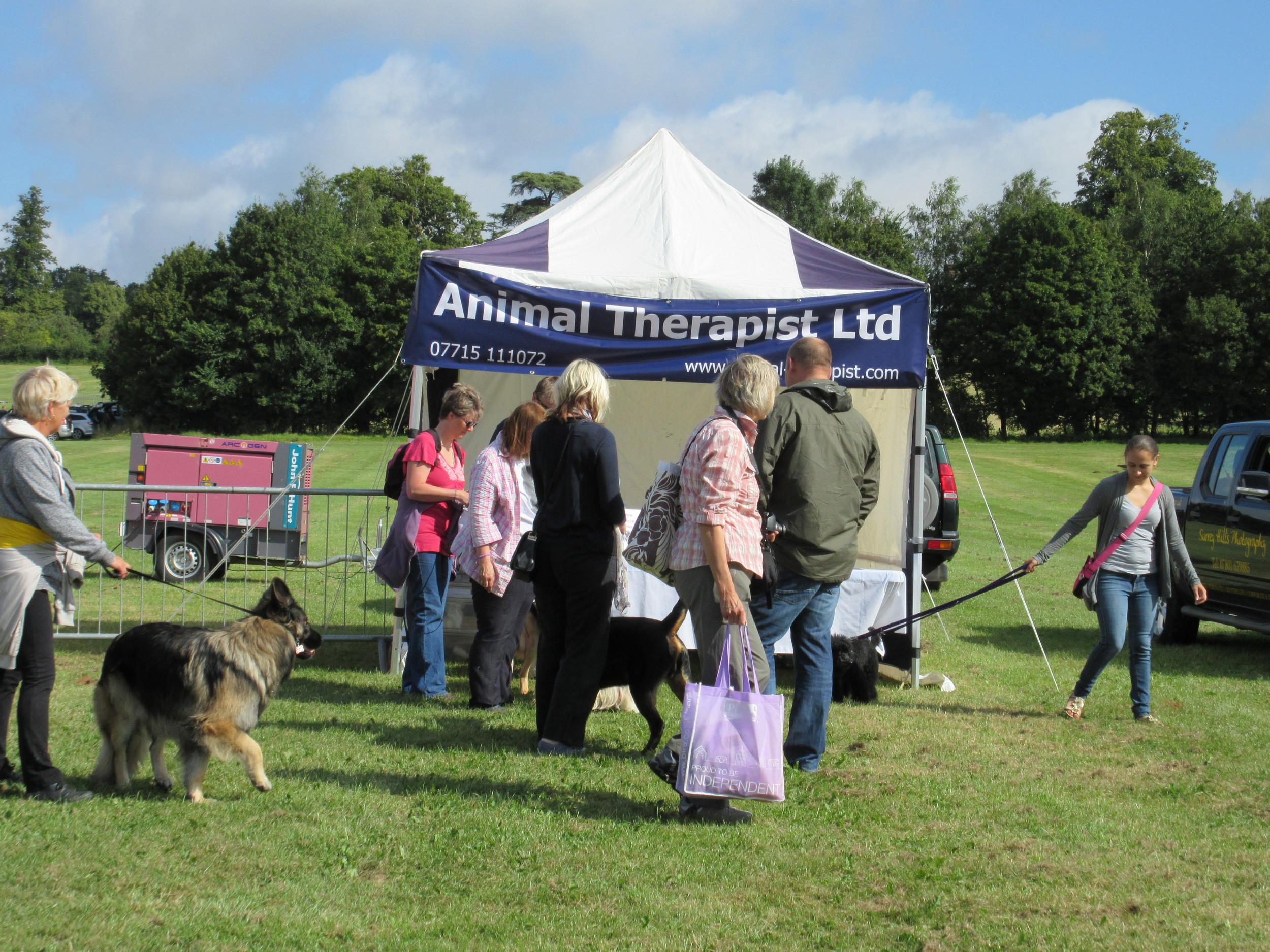 Animal Therapist Ltd Trade stand.jpg