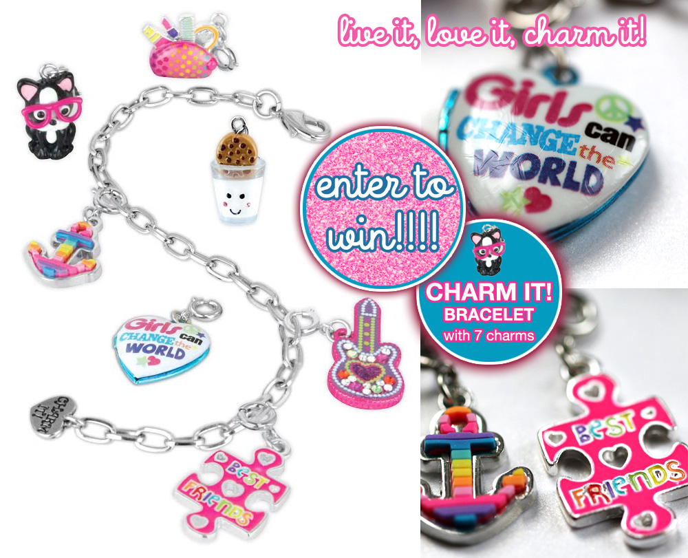 Live it, Love it, Charm It! Enter to Win Your Very Own CHARM IT! charm bracelet