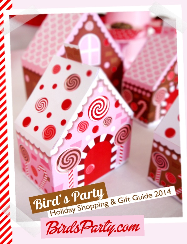 Bird's Party Holiday Shopping & Gift Guide 2014 - inspiration, gift ideas and yummy recipes for the holiday season / as shared on www.gigglehearts.com