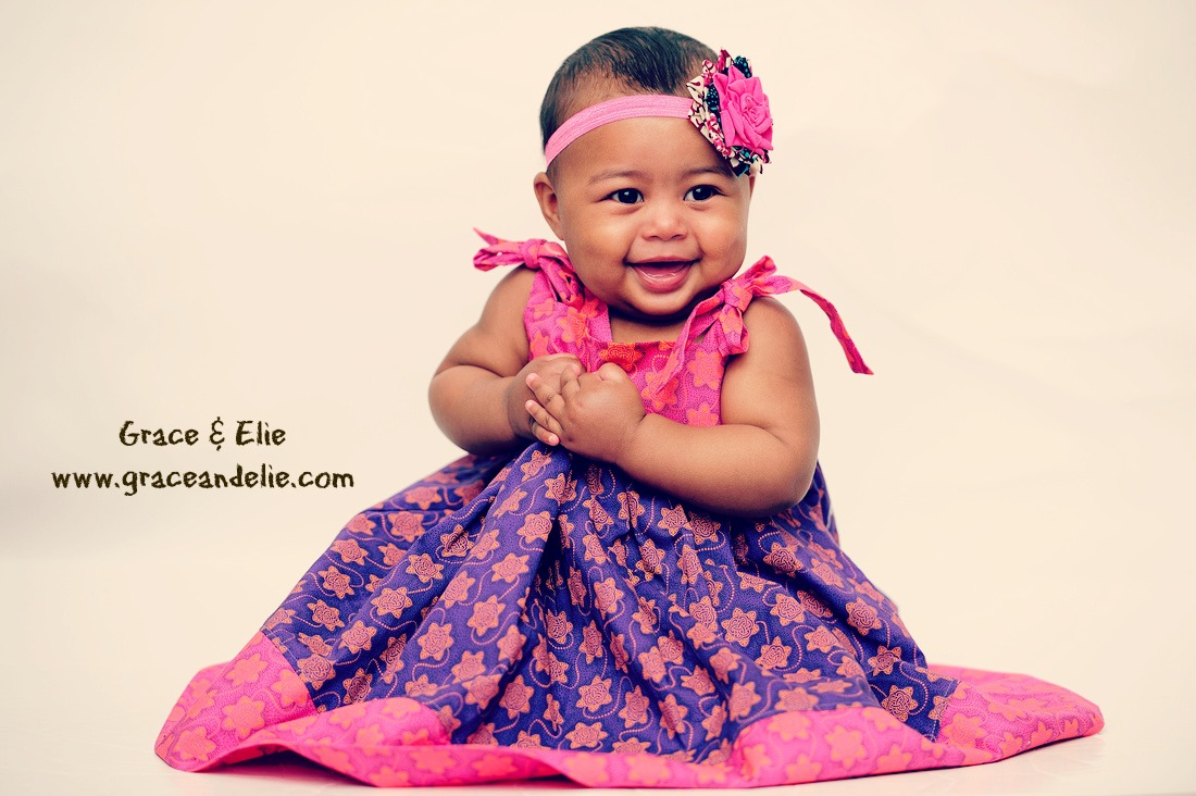 Playful and Colorful Dresses for Your Global Trendsetter Baby from Grace & Elie / as seen on www.GiggleHearts.com