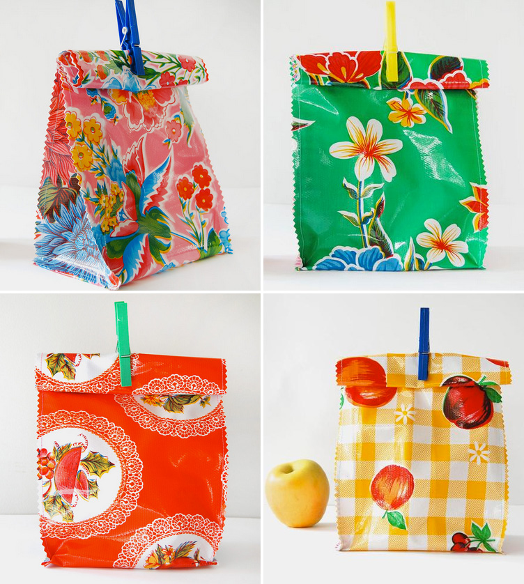 Reusable Lunch Bags that are Stylish and Colorful / as seen on www.GiggleHearts.com