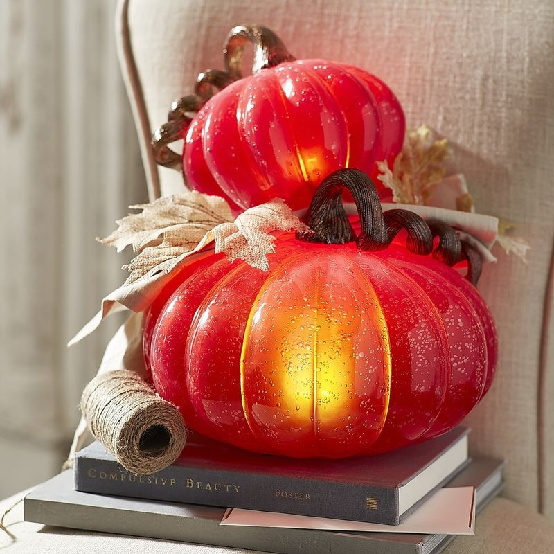 Enchanting LED Pumpkins - perfect for Halloween, perfect for Fall