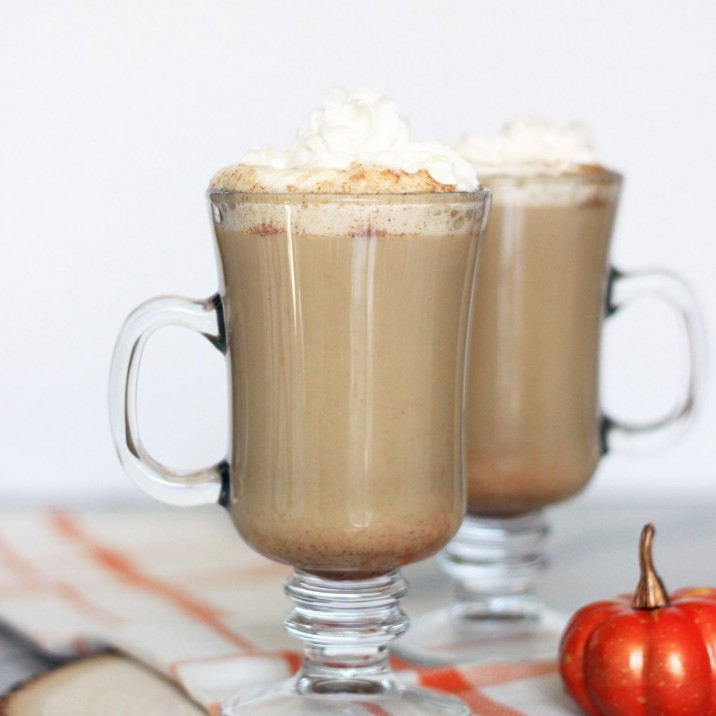 FALL PARTY BLOG HOP STOP NUMBER ONE:  Mirabelle's post on creating a fall coffee bar and her pumpkin spice latte recipe