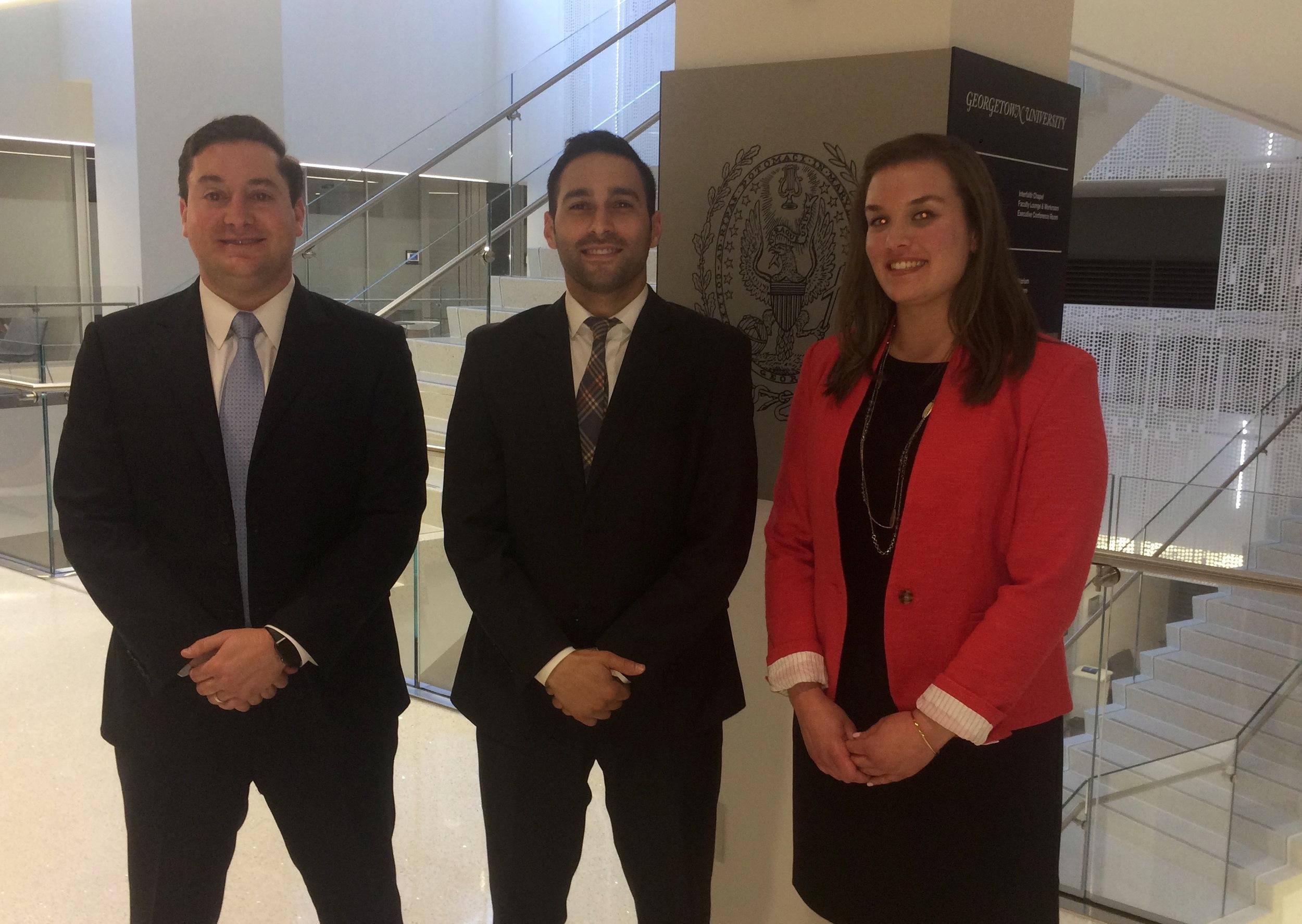 From Left: Eric Kasenetz, Omar Samaha, and Nicole Robertson