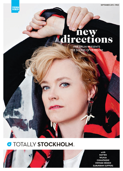 TOTALLY STOCKHOLM COVER STORY: ANE BRUN