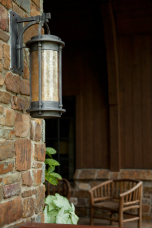 Outdoor light fixtures must be properly finished in order to withstand the elements.