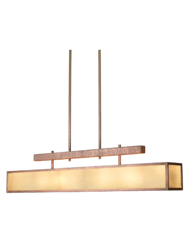Large Hammerton fixtures, like this contemporary dining light, are engineered to withstand gravitational effects on the load.