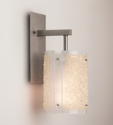 A Rimelight indoor sconce, also in Citrine.