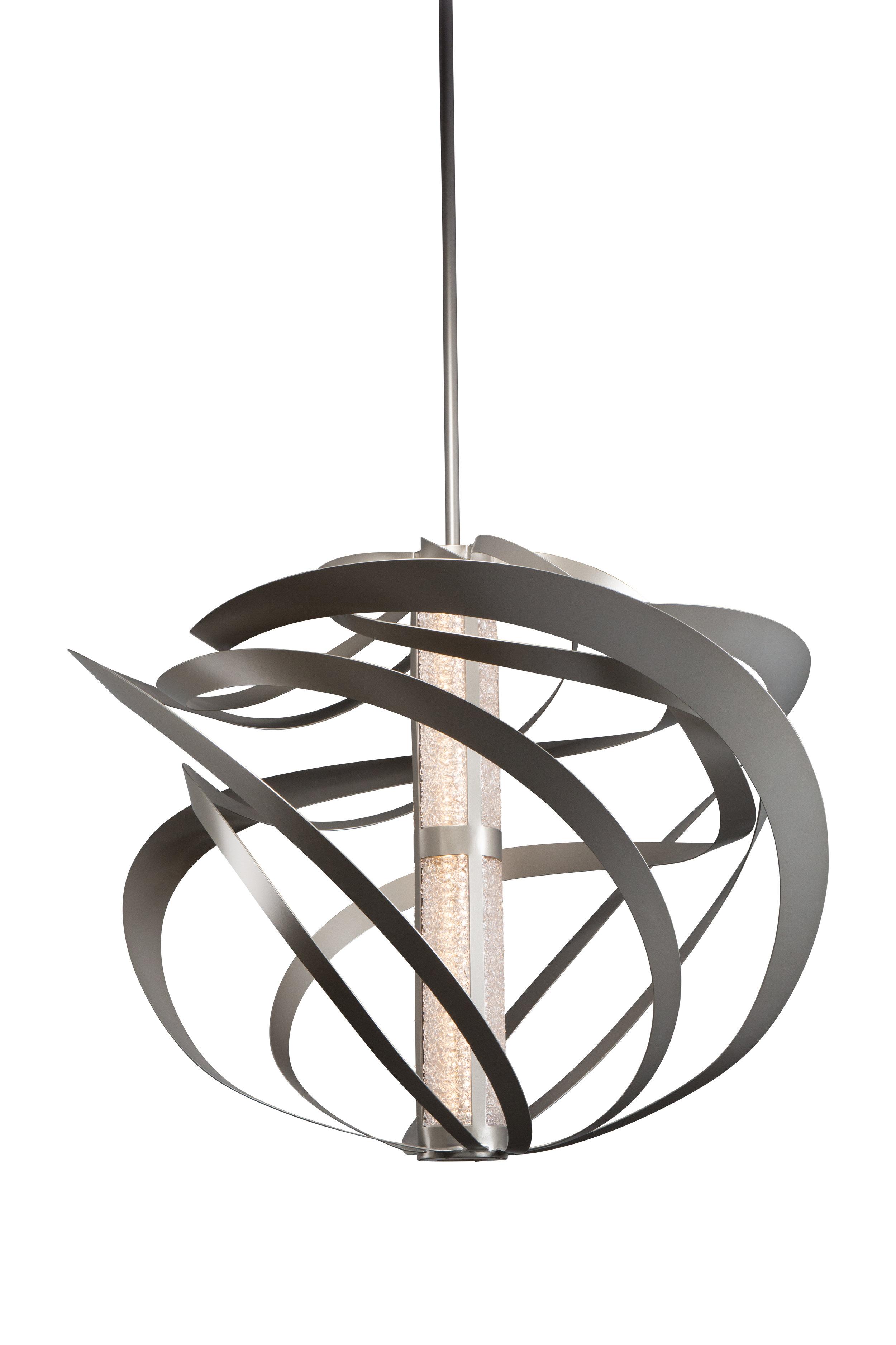 "A 48"" diameter design of LA2115, with a Rimelight glass diffuser. Custom design #CU-LA2115-17A-B"