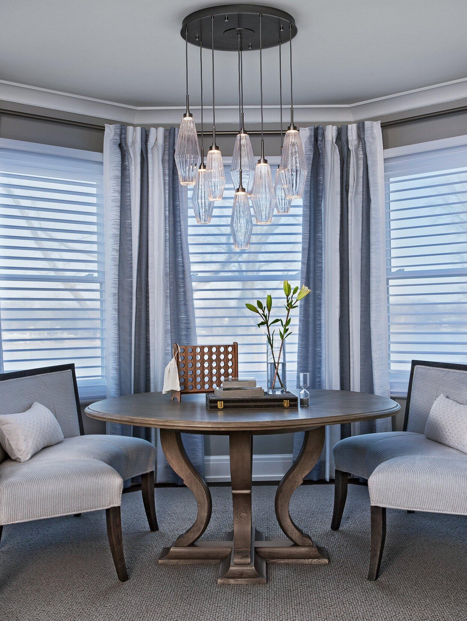 Aalto Multi-port chandelier, by Hammerton Studio