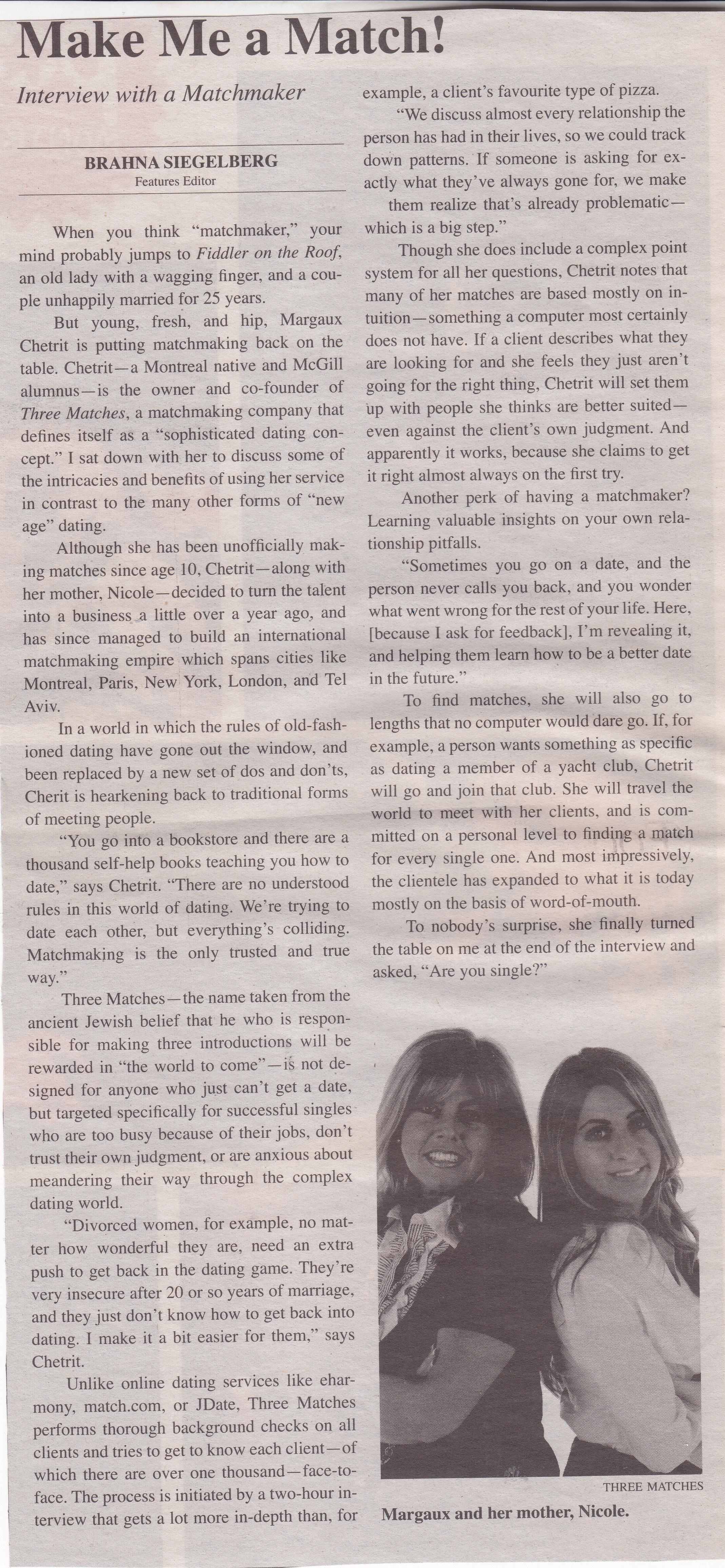 McGill Tribune , September 2009