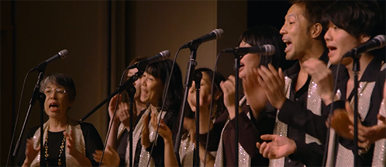 "Japanese black gospel choir singing at our HIDDEN BEAUTY arts conference last October. Watch the video    here.    (In the beginning, Yuko and Abi explain in Japanese about the ""hidden"" message and power of gospel music. I recommend starting at the 10-minute mark.)"