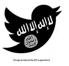 One of many images created by ISIS supporters in regards to their social media presence.