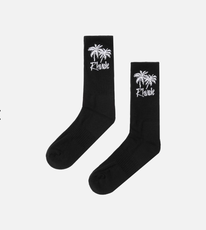 Rhude Palm Tree Socks