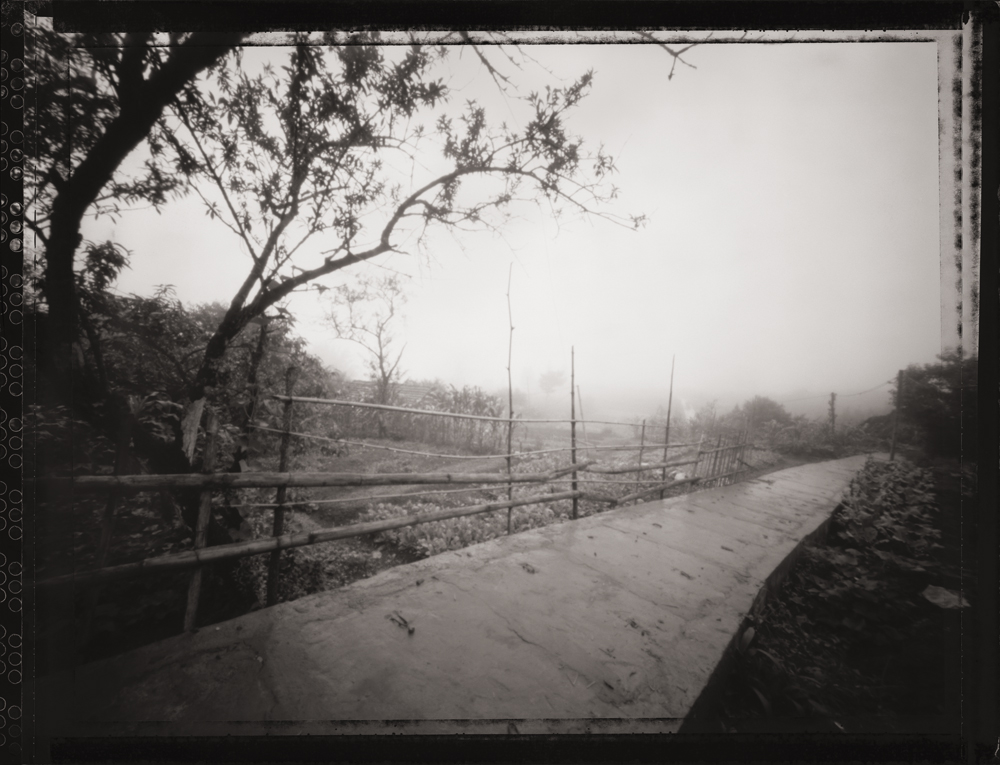 Path and Fog, Sapa Valley . Pinhole Image © 2007.
