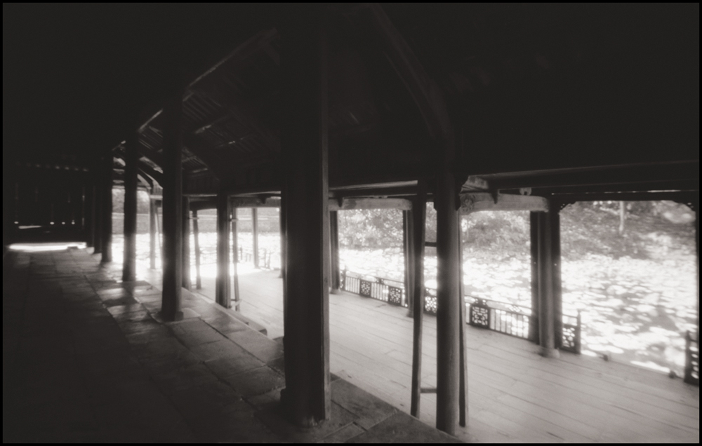 Luu Kiem Lake at Tomb of King Tu Duc, Hue . Pinhole Image © 2007.