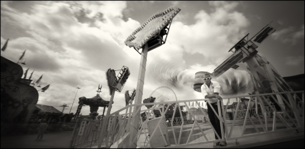 Wian, The Space Roller . Panoramic Pinhole Image © 2008.