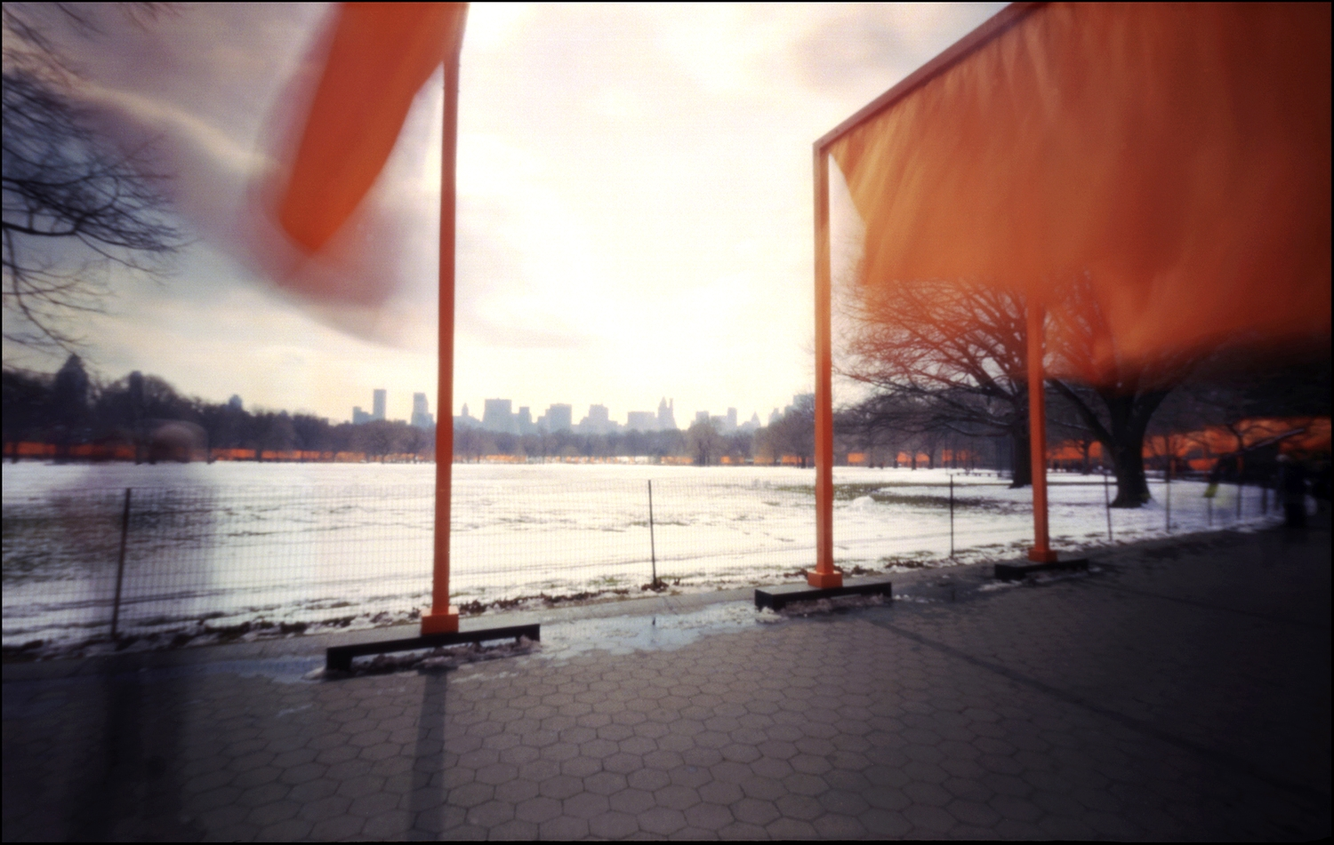 The Great Lawn no. 2 .Pinhole Image © 2005.