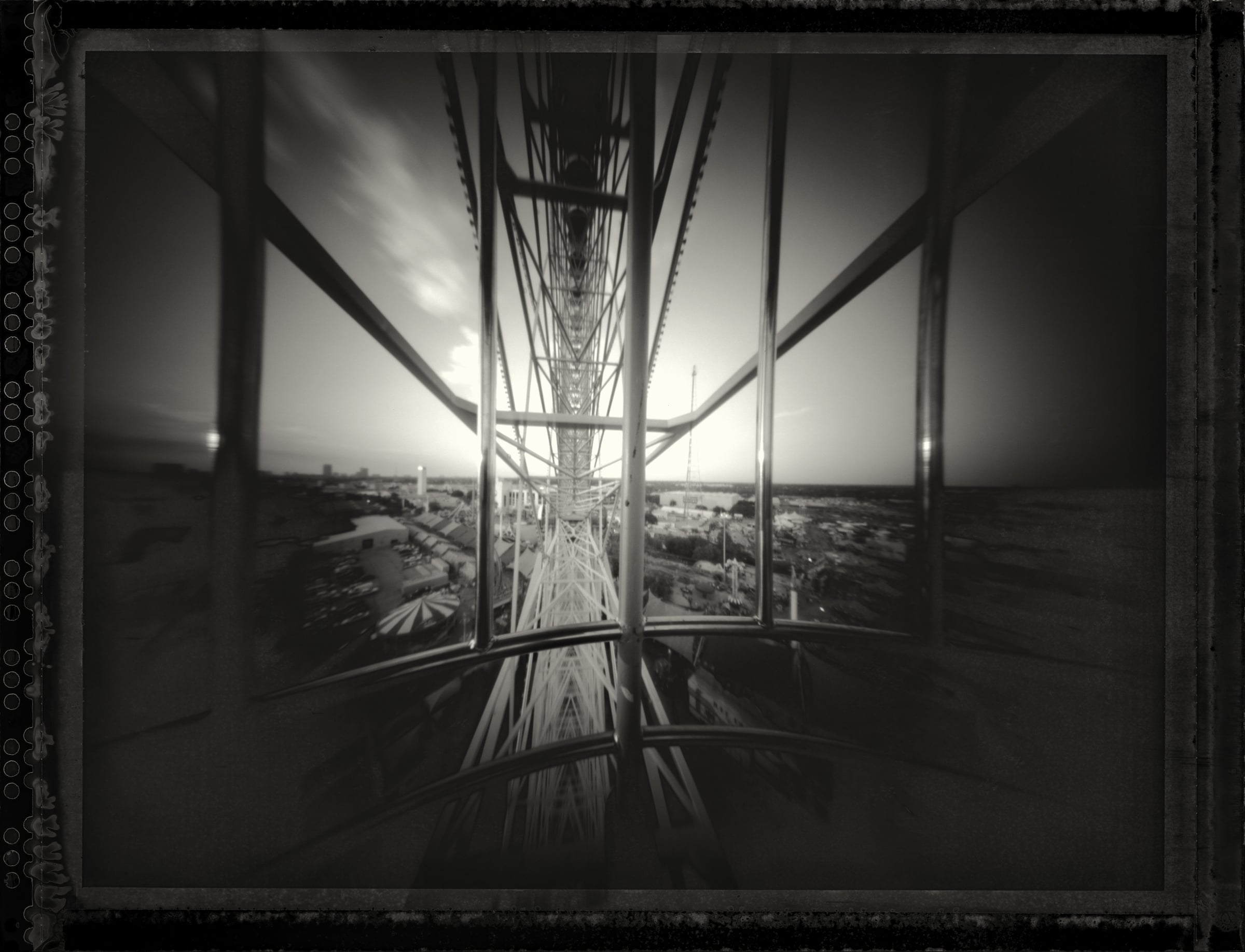 The Texas Star, Fair Day.  Pinhole Image © 2008.