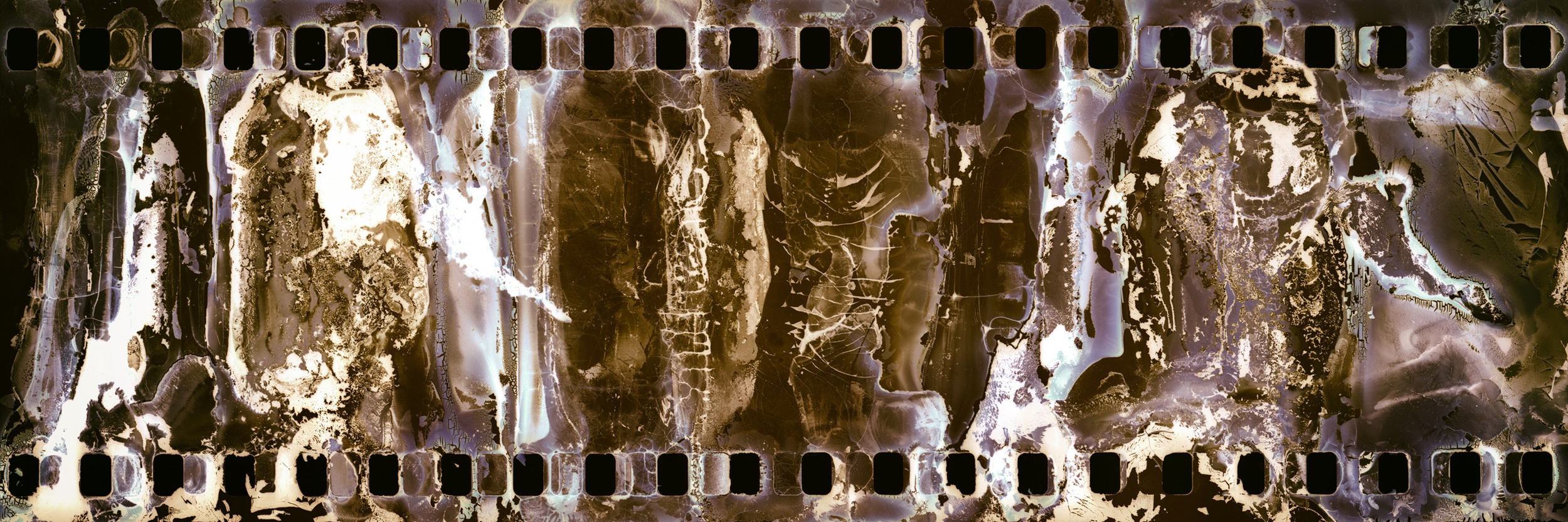 Found: Filmstrip Ochre