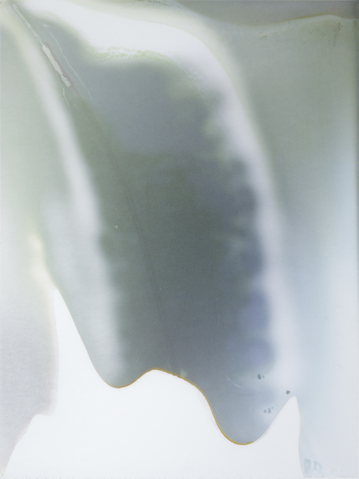 Abstract #3, White Polaroid Pull