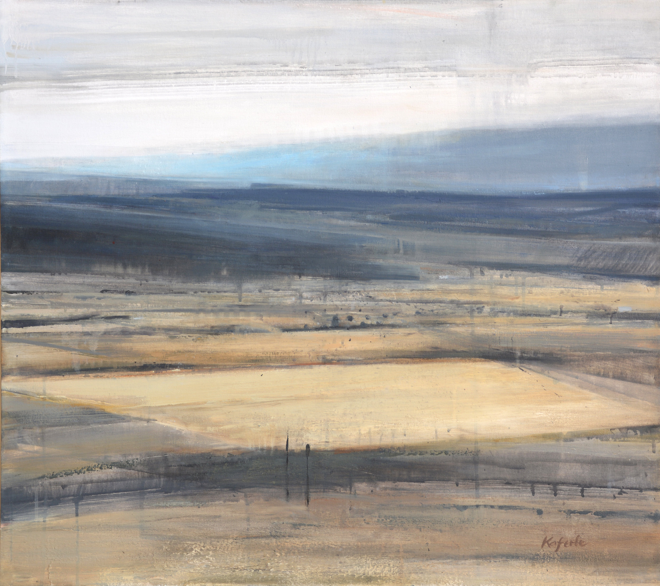 "Polytrope   oil on canvas  32x 36""  2015"