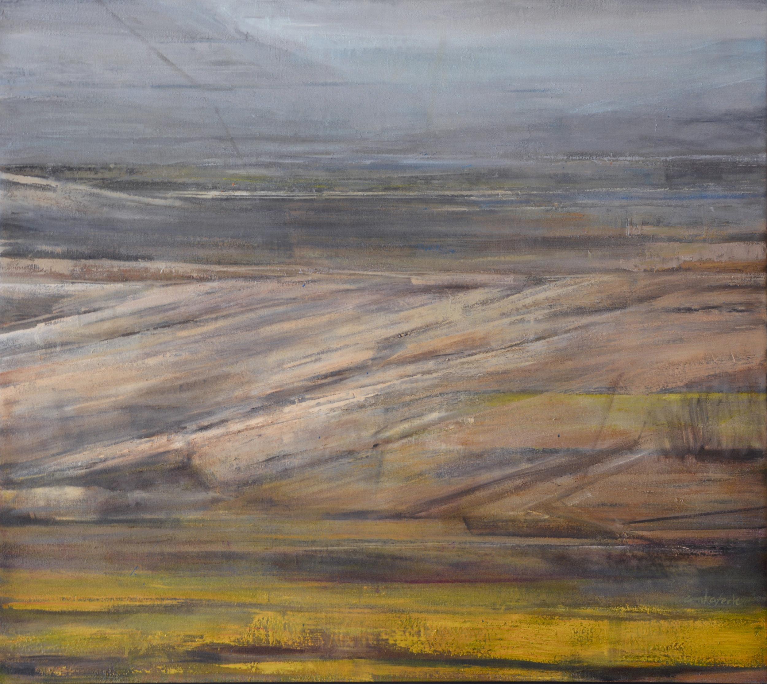 """Oljeto   oil on canvas  36 x 32""""  2014"""
