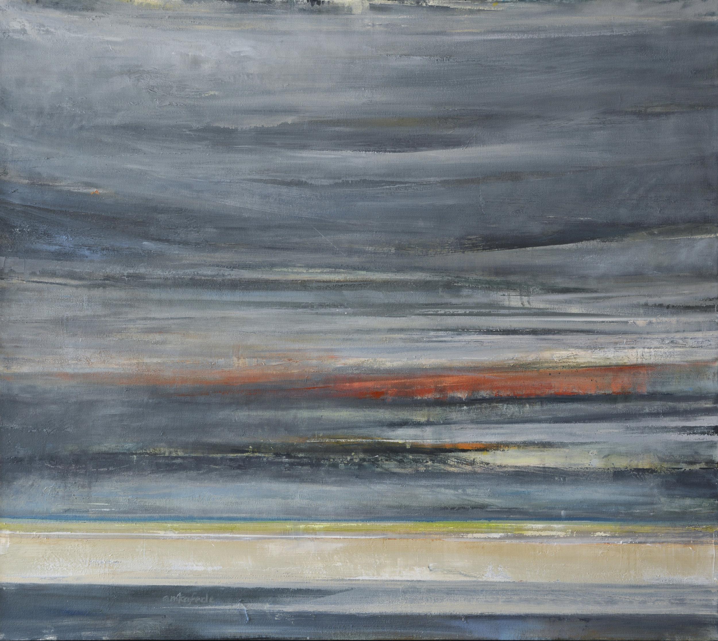 """Wingaersheek   oil on canvas  40 x 45""""  2014"""