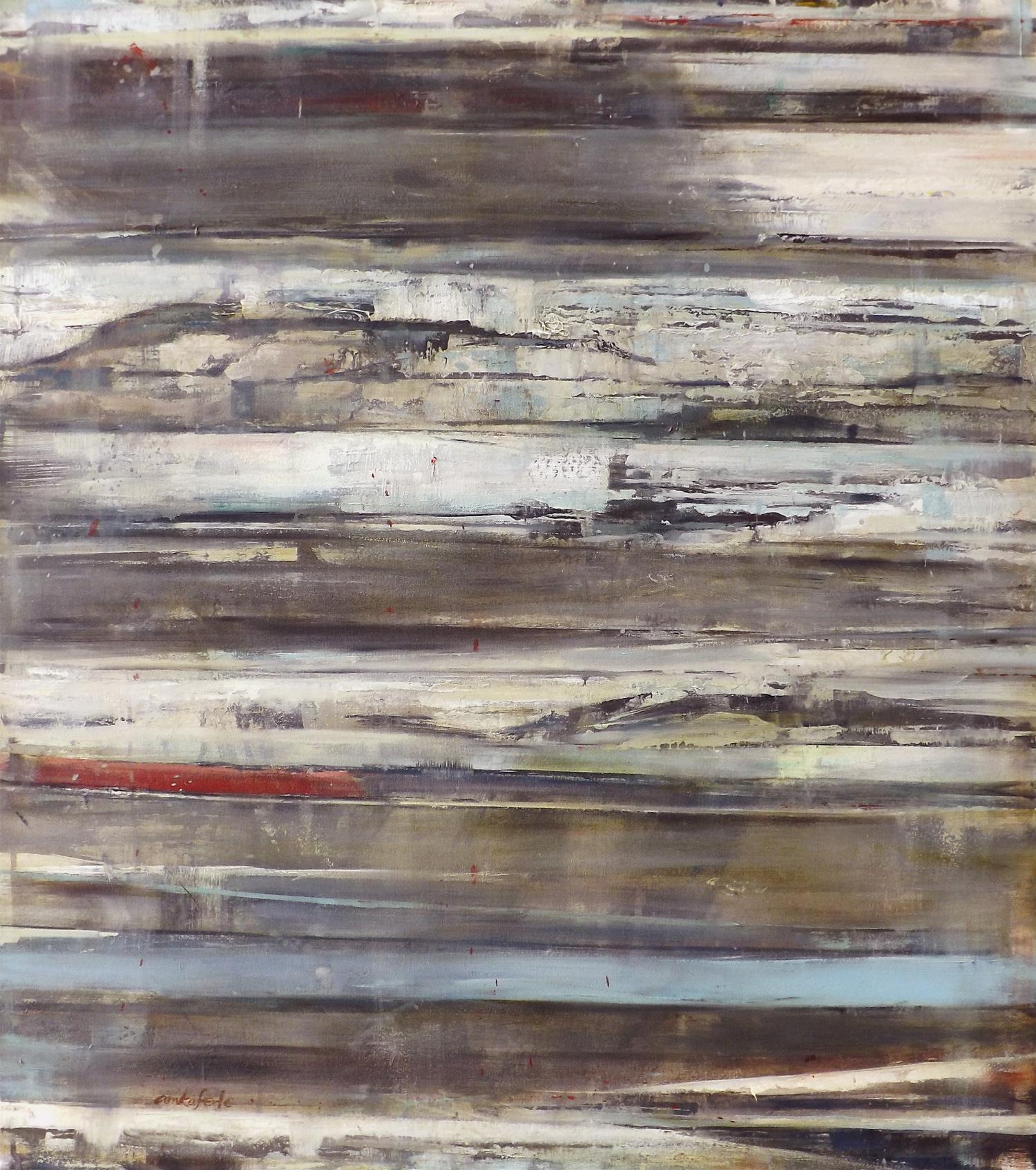"Forum    oil on canvas  36 x 32""  2013"