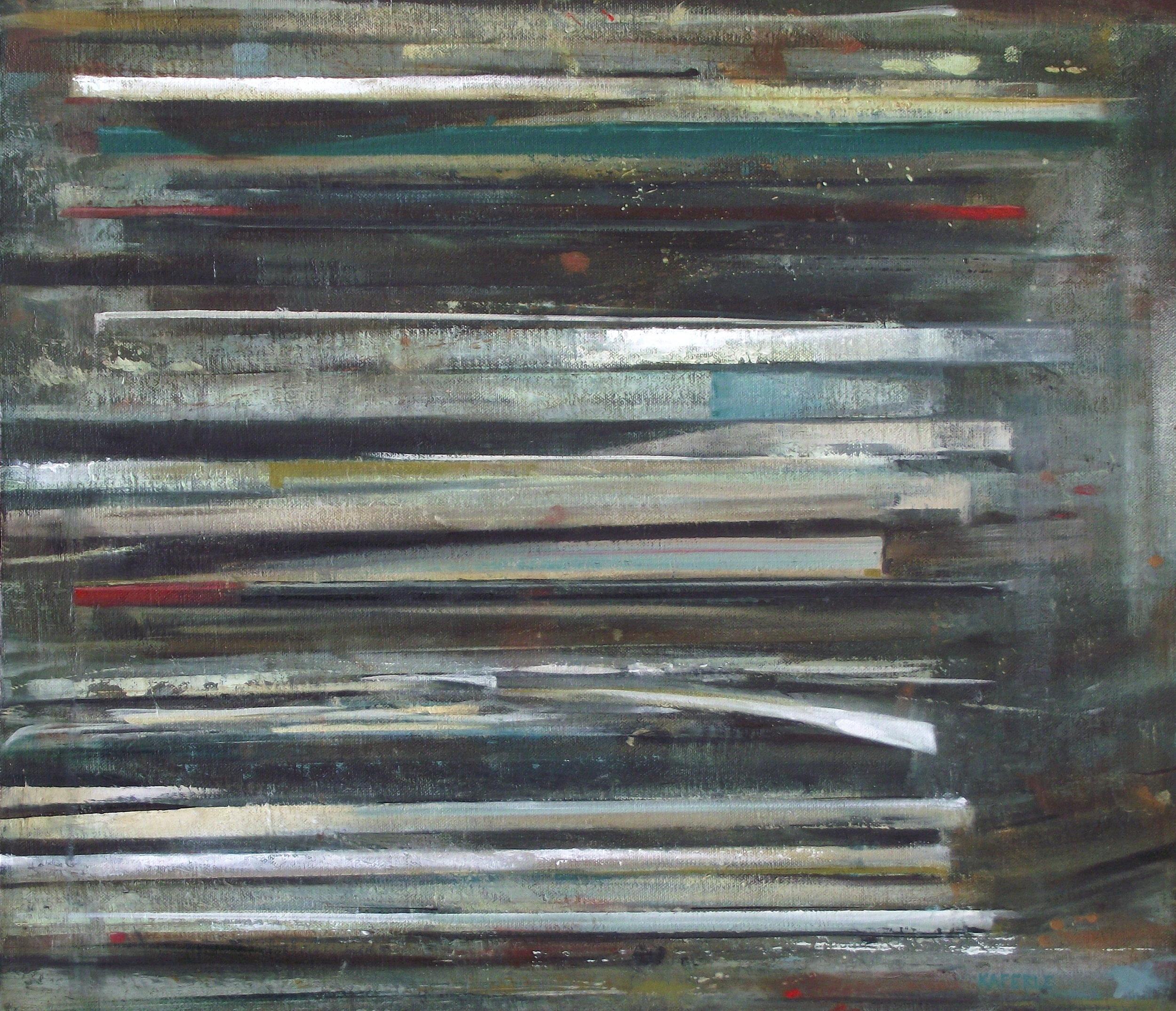 "Art in America   oil on canvas  18 x 21""  2013"